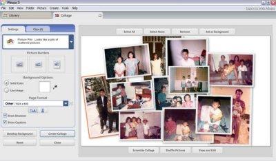 Membuat Foto Menjadi Video dengan Picasa